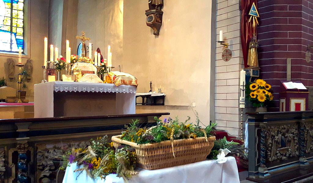 Maria Himmelfahrt Kräuterweihe