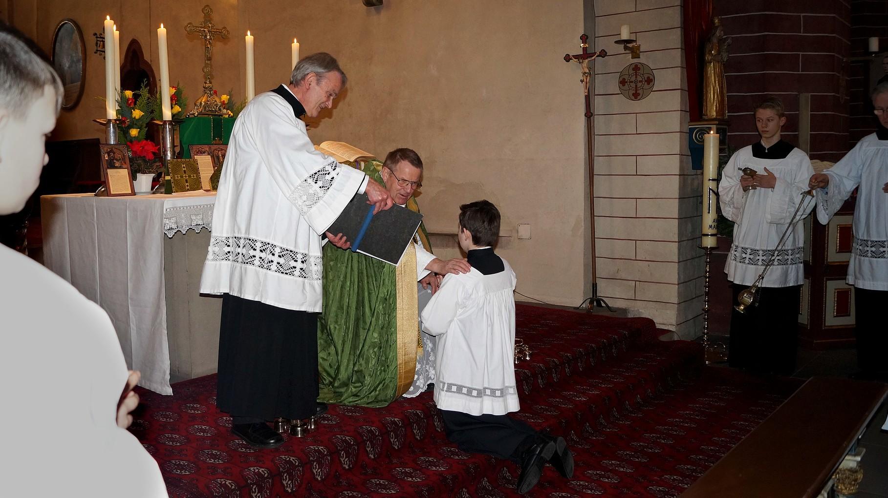 Ministrantenaufnahme - Alte Messe Paderborn