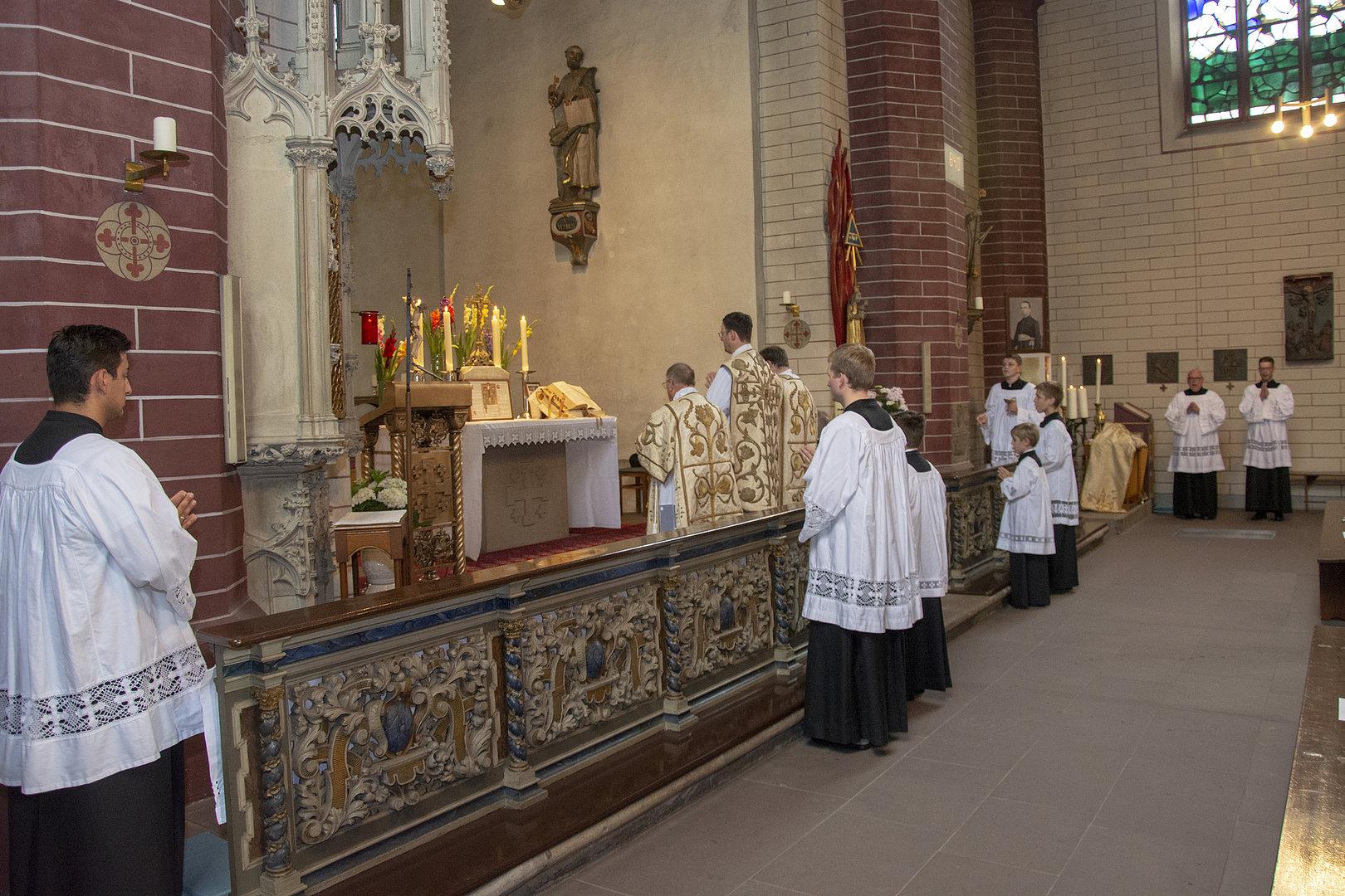 Missa Tridentina in Paderborn
